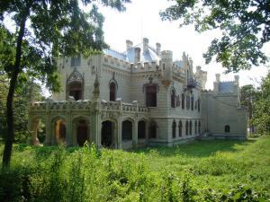 Castelul Miclauseni, sec XIX (2)